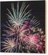 Fireworks 2019 One Wood Print