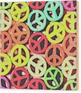 Flares Of Freedom Wood Print