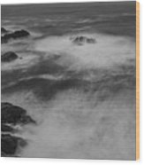 Flat Water Surface Wood Print