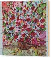 Floral Life Wood Print