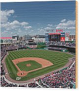 Florida Marlins V Washington Nationals Wood Print