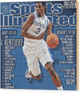 Florida V Kentucky Sports Illustrated Cover Wood Print
