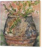 Flowers For Kallie Wood Print