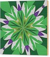 Flowers Number 25 Wood Print