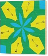 Flowers Number 36 Wood Print