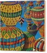 Flying Colours Wood Print