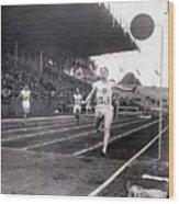 F.m. Taylor Wins 400 Meter Olympic Wood Print