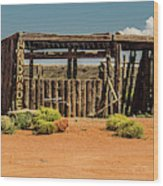 For Sale Wood Print