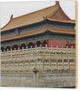 Forbidden City 60 Wood Print