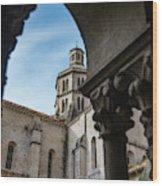 Fossanova Abbey Wood Print