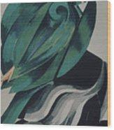 Fourth Female Masker Costume Design Wood Print
