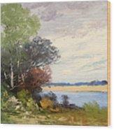 Fox River 1909 Wood Print