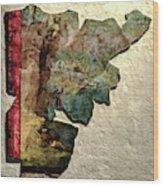 Fragment Wood Print