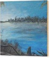 Framing The Suwannee Wood Print