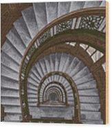 Frank Lloyd Wright - The Rookery Wood Print