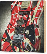 Frankenstrat Studio Shoot Wood Print