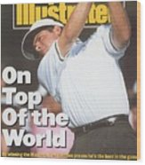 Fred Couples, 1992 Masters Sports Illustrated Cover Wood Print