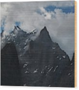 French Alps Region II Wood Print