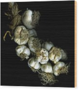 French Garlic Wood Print