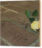 Friendship Rose Wood Print