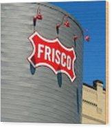 Frisco Museum  Wood Print
