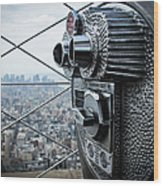 From Observation Deck Wood Print