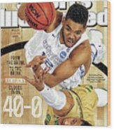 From The Brink. To The Brink. Kentucky Closes In On Sports Illustrated Cover Wood Print