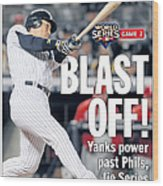 Front Page Of The Daily News From Wood Print