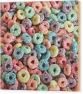 Fruit Cereal Wood Print
