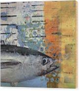 Funky Fish Wood Print