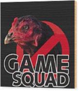 Game Squad Wood Print