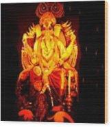 Ganesha4 Wood Print