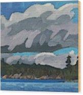 Gargantua Harbour Island Wood Print
