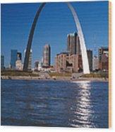 Gateway Arch In St Louis, Missouri Wood Print