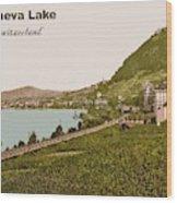 Geneva Lake Wood Print