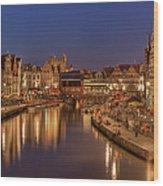 Gent - 03101119 Wood Print