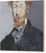 George Moore        Wood Print