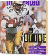 Georgia Tech William Bell... Sports Illustrated Cover Wood Print