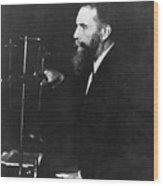 German Physicist Wilhelm Roentgen Wood Print