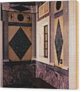 Getty Villa Interior  Wood Print