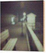 ghosts IV Wood Print