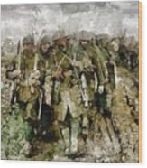 Ghosts Of Wwi Wood Print
