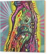 Gift Horse Wood Print