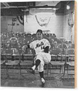 Gil Hodges Of The 1969 New York Mets Wood Print
