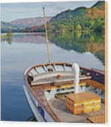 Glenridding Ullswater Wood Print