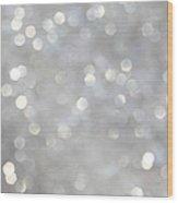 Glittery Background Wood Print