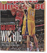 Go Little, Win Bing 2011 Nba Playoff Preview Issue Sports Illustrated Cover Wood Print