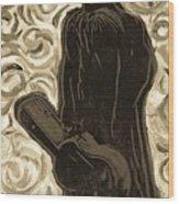 Gogh Johnny Go Wood Print
