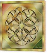Gold Design 24 Wood Print