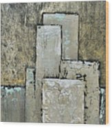 Golden Skyline IIi Wood Print